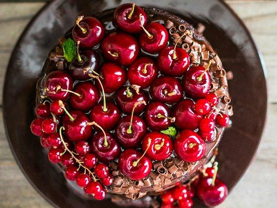 Вишневый торт (рецепт)