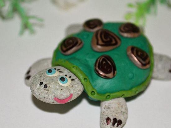 Мастер-класс по лепке черепахи из пластилина
