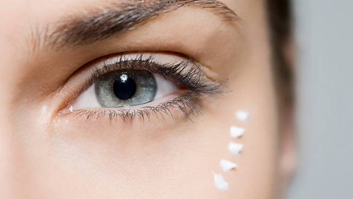 Домашний гель для кожи вокруг глаз