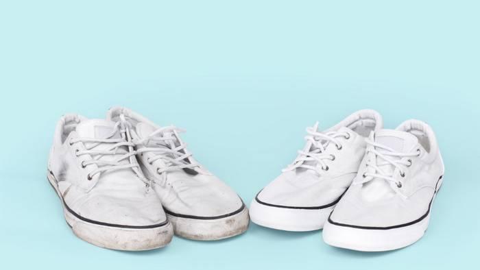 Как и чем отстирать кроссовки и кеды