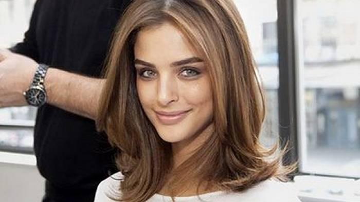 Подборка стрижек для средней длины волос