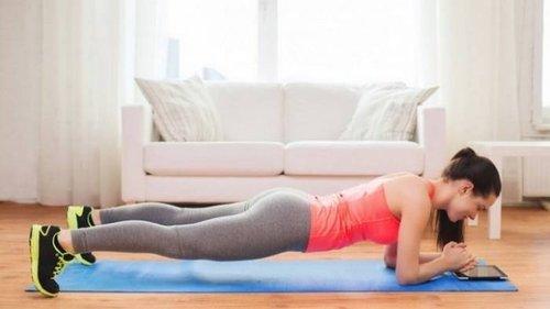 Упражнение планка для укрепления мышц