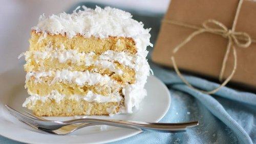Рецепт торта с кокосовой стружкой
