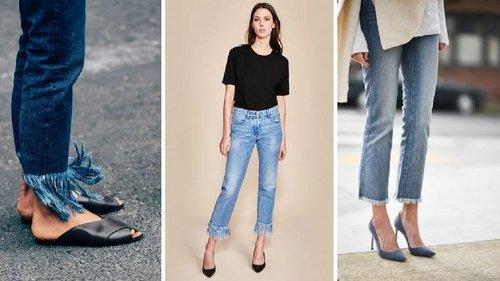 Какие модели джинсов актуальны для цветущих дам