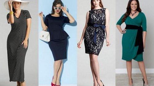 6 правил выбора платья для полных девушек