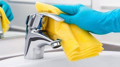 Как легко убрать известковый налет