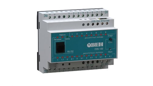 ПЛК «ОВЕН» и электроконтактные манометры для промышленных и сельс...