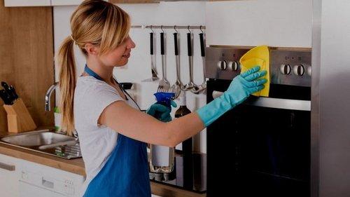 Как очистить ручки плиты от жира и грязи