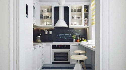 Как переделать маленькую кухню в хрущевке до неузнаваемости