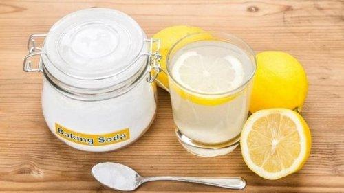 Сода с лимоном для здоровья