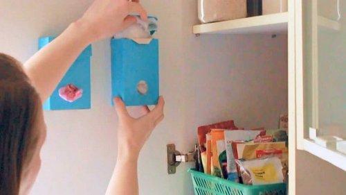 Как хранить полиэтиленовые пакеты