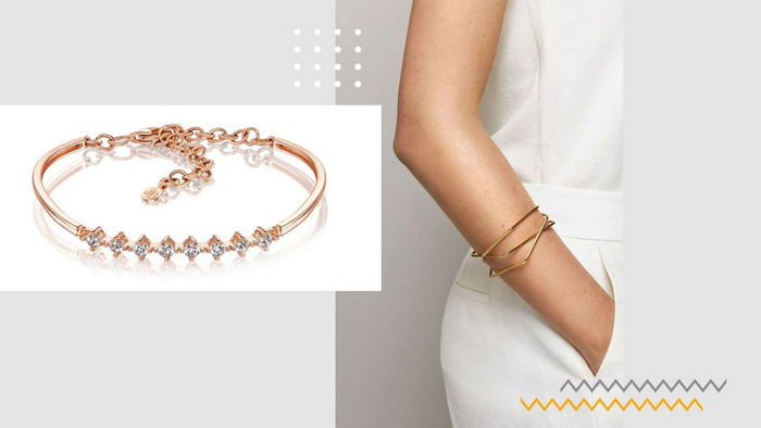 Золотые браслеты для себя и в подарок