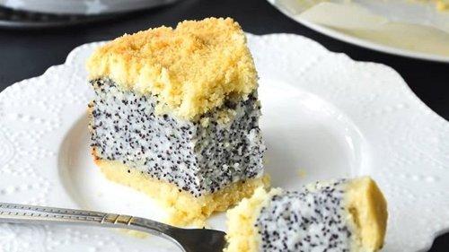 Инструкция по приготовлению макового пирога с творогом