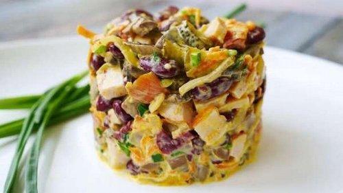 Как облегчить приготовление салатов