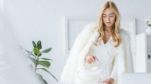 Почему белые наряды уместны зимой