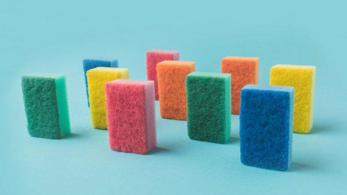 Что означают разные цвета губок для мытья посуды