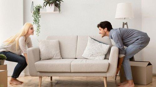 Как передвинуть тяжелую мебель без вызова грузчиков