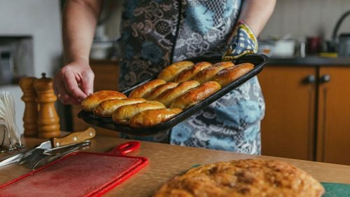 Рецепт уральских пирогов на кефире