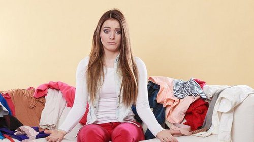 Какие завалы одежды есть в шкафу у каждой женщины