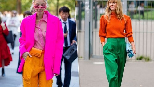 Оранжевый — как и с чем носить главный цвет сезона