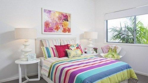 Спальня: обновляем краски