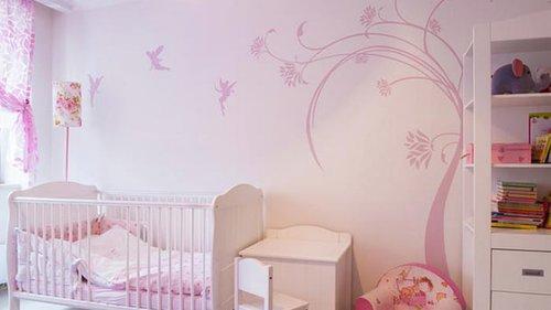 Какие рисунки можно нанести на стены в детской