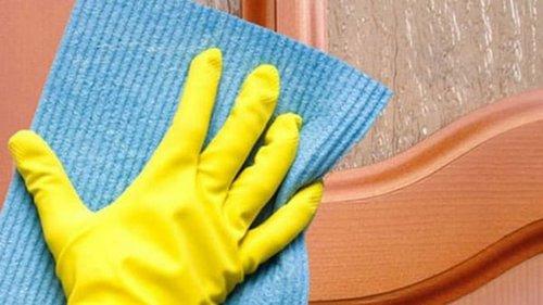 Как отмыть матовое стекло от жирных пятен