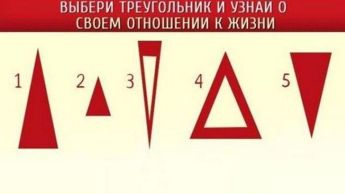 Выбери треугольник: тест точно опишет вашу личность