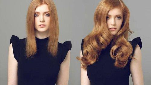 Основные преимущества наращивания волос трессами