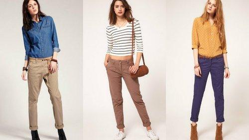 Основні види жіночих штанів