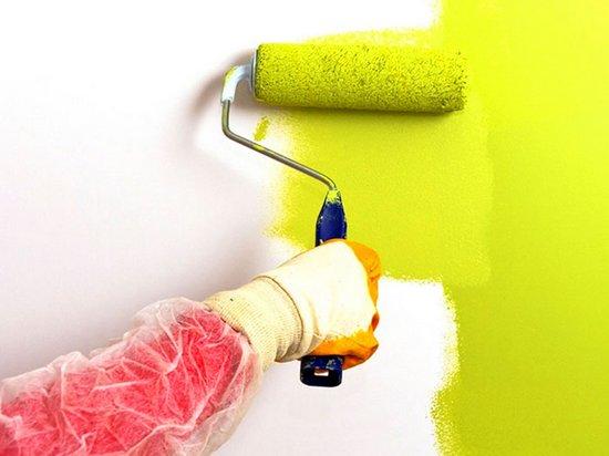 Малярные работы: как красить стены валиком